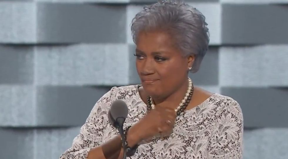 Donna Brazile brings DNC to its feet with barn-burner speech: 'We're never going back'