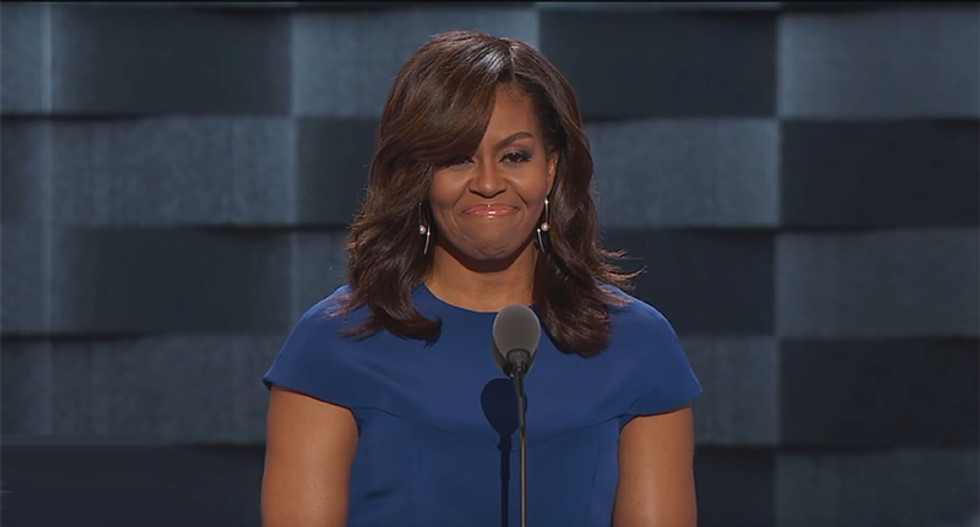 WATCH: First Lady Michelle Obama addresses Democratic National Convention (VIDEO/TEXT)