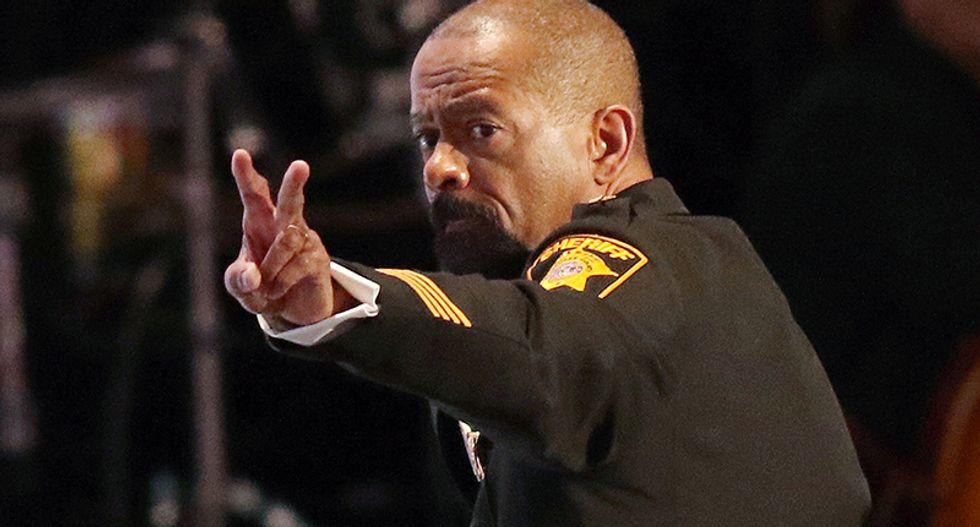 Controversial Wisconsin Sheriff David Clarke resigns