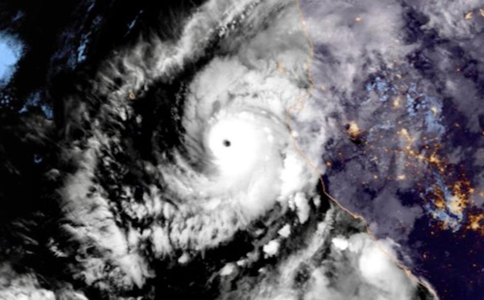 Thousands evacuated as Hurricane Willa descends on Mexico