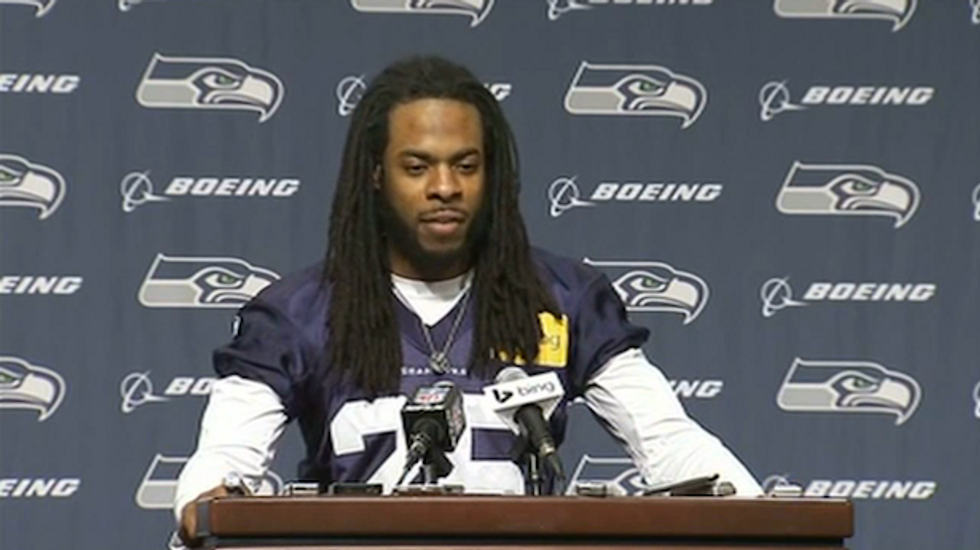 Richard Sherman on the word 'thug': 'It's an accepted way of calling somebody the N-word'