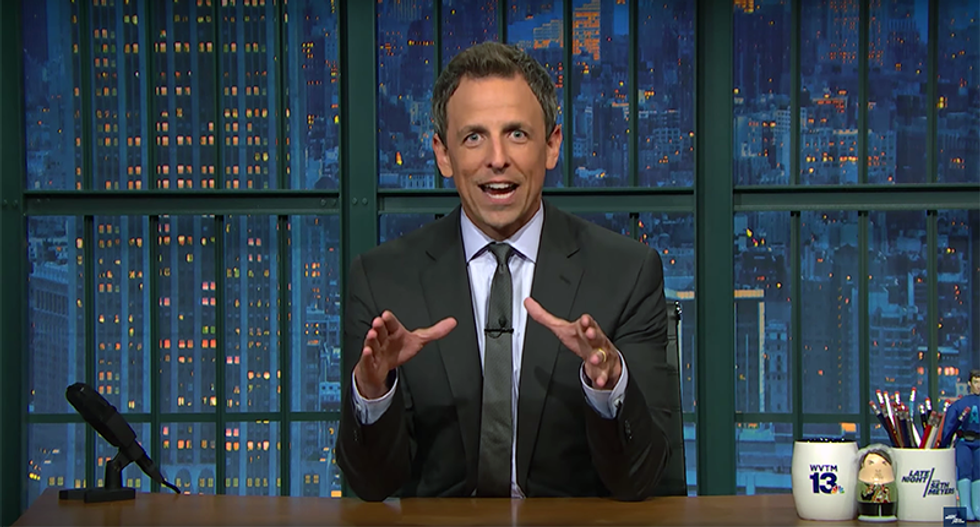 Take 'your f*cking meds': Speechless Seth Meyers floored by Trump's Mika attacks