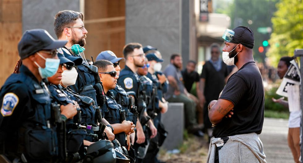 Park Police chief insists 'tremendous restraint' was used in violent crackdown on Lafayette Square protesters