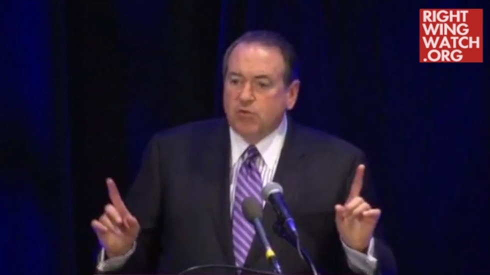 Huckabee: Dems say women 'can't control their libido' without birth control from 'Uncle Sugar'