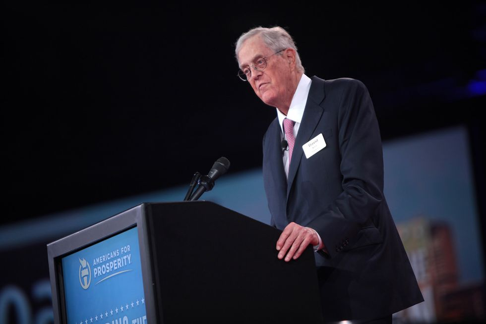 Koch brothers and Saudi oil execs lobbied Trump to remove chemical plant safety rules