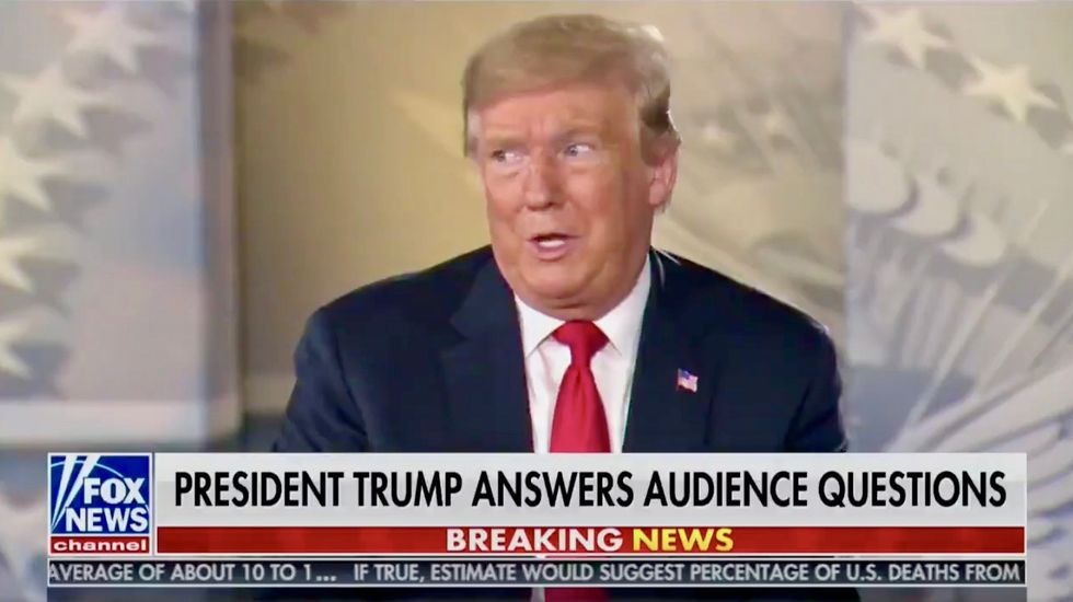 'The first four years were practice?': Trump scorched for not being able to say what he wants to do if re-elected