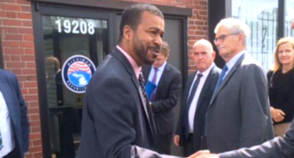 Furious Michigan Republicans want black outreach chief fired for not defending the Confederacy