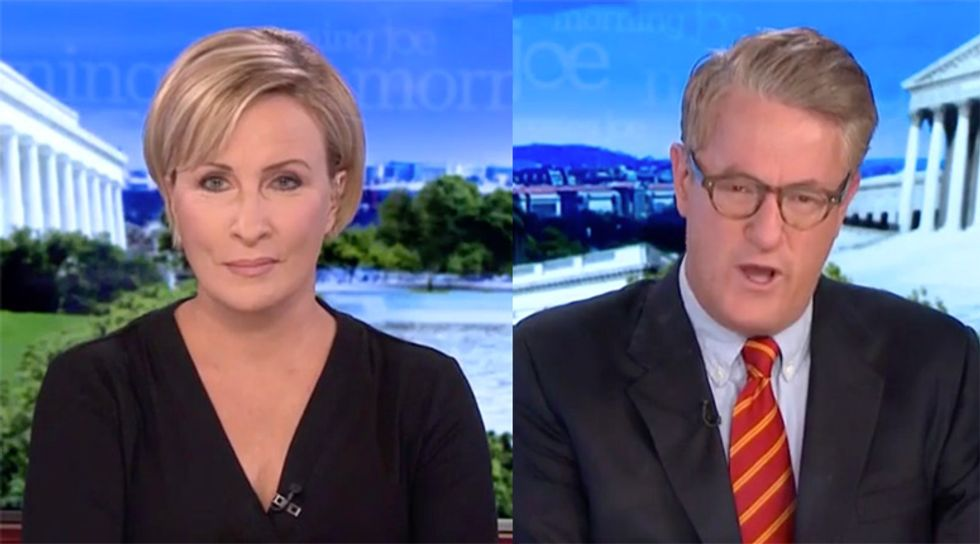 Morning Joe suggests Trump may 'leave the stage' rather than suffer 400 electoral vote blowout in November