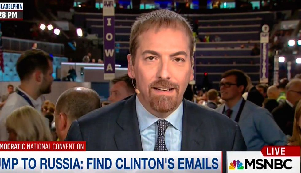 Chuck Todd defends Trump's call for cyberattack on Clinton: 'We do espionage against Russia'