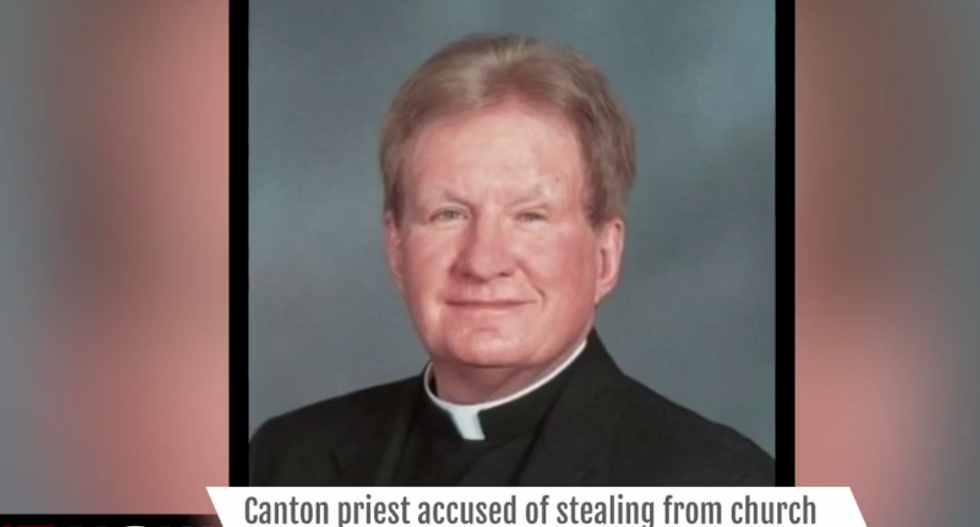 Priest facing 4 years in prison for stealing wine and cash from collection plate