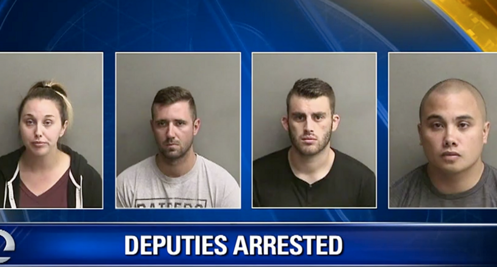 'Embarrassed, shocked, and ashamed': Sheriff arrests 4 deputies in feces-throwing scandal