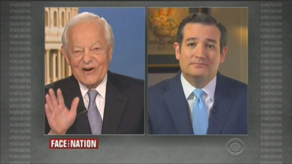 Veteran CBS host laughs in Cruz's face after he repeatedly denies shutting down government