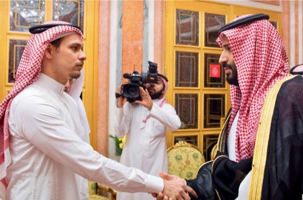 Saudi king, crown prince meet Khashoggi family members: SPA