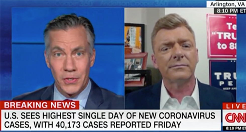 'It's about lives': Trump advisor lectured by CNN anchor for trying to spin COVID-19 pandemic as a 'win'