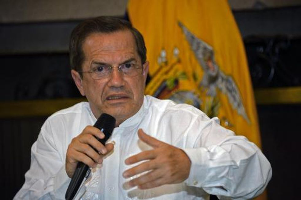 Ecuador resolute on reducing U.S. military personnel and spying