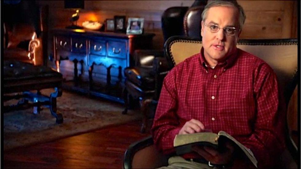 Arkansas Democrat Mark Pryor says the Bible, not partisanship, should guide politics
