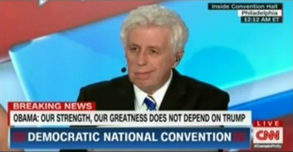 Trump surrogate Jeffrey Lord blames gun violence on legalized abortion -- and goes down in flames