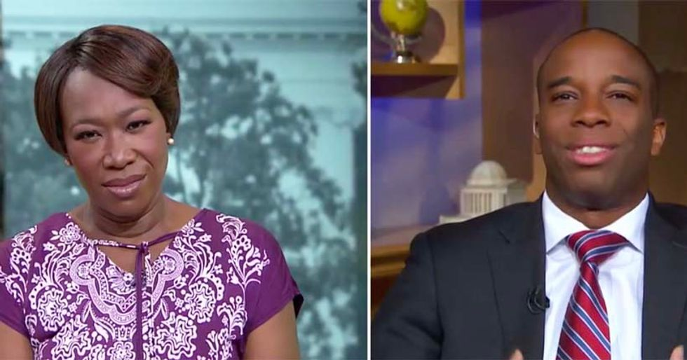 'They are 91 percent employed!': Joy Reid annihilates guest comparing Dreamers to welfare recipients