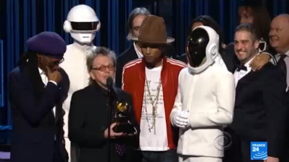 French duo Daft Punk wins big awards at Grammys
