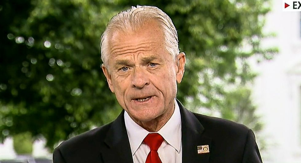 Trump's economic adviser Peter Navarro lashed out at Canadian soldiers helping the US in Afghanistan