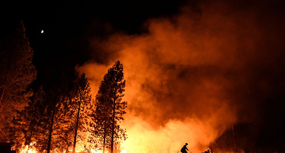 California governor declares state of emergency for wildfire
