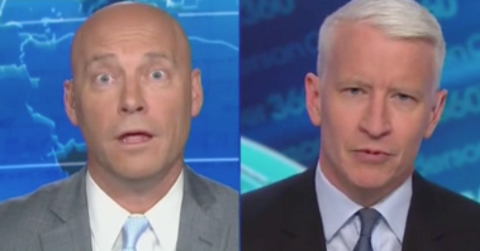 CNN's Anderson Cooper flattens ex-Trump aide for backing immigration conspiracy: 'I trust someone who's not lying!'
