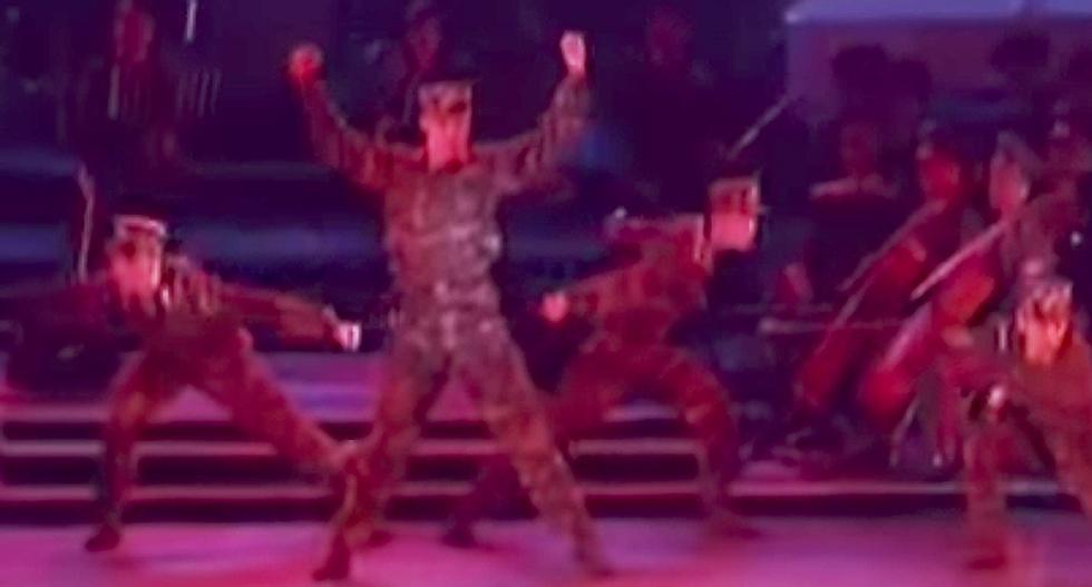 North Korea's absurd dance propaganda video is, apparently, Kim Jong-un's idea of badassery