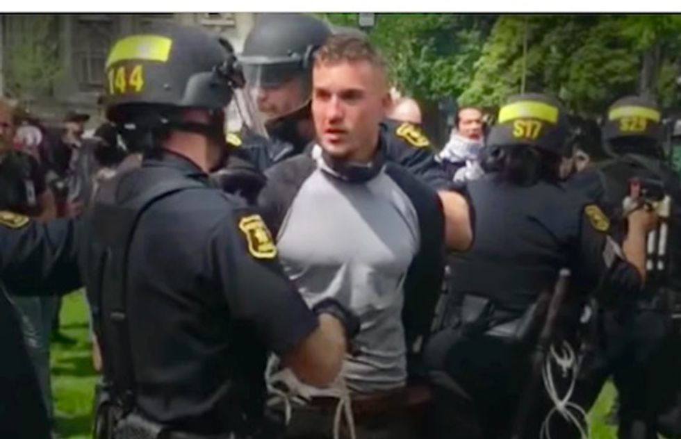 US white nationalist leader, three others charged with conspiracy