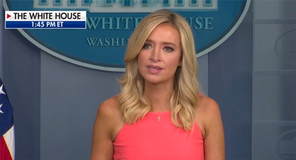 Kayleigh McEnany's latest defense of Trump exposed the fatal flaw that could end his presidency: columnist