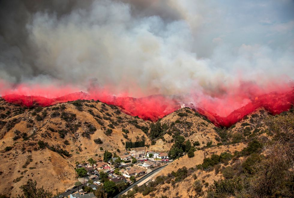Los Angeles 'turns corner' on largest wildfire in city history