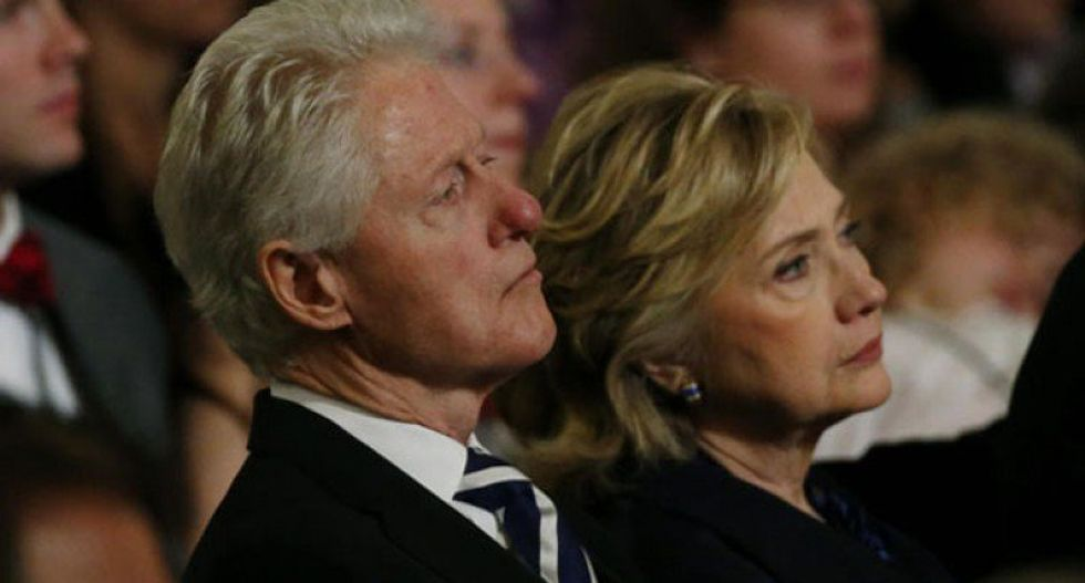 FBI finds explosive device near the Clintons' house in Chappaqua -- one day after bomb targeting Soros