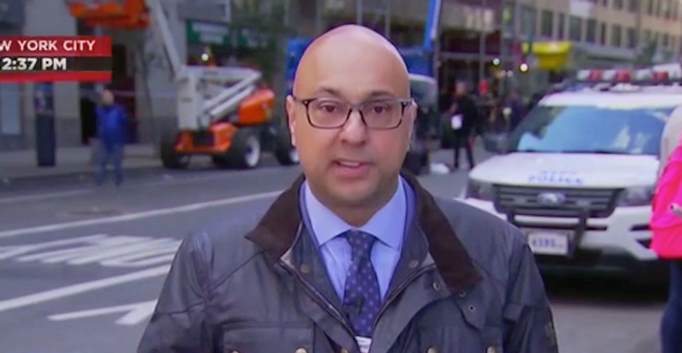 'Beyond coincidence': MSNBC's Ali Velshi predicts 'political' motivation of bomb-senders