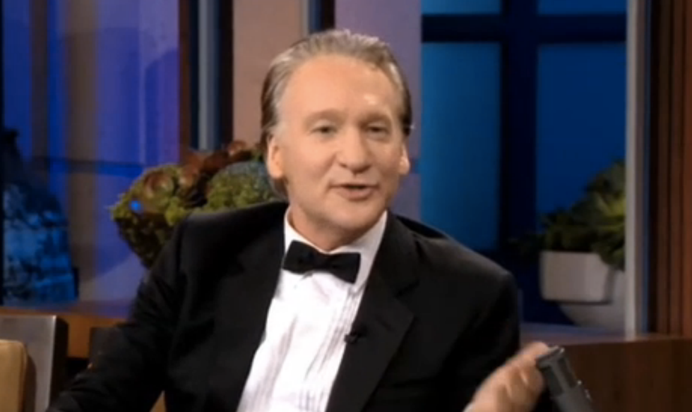 Bill Maher: GOP was wary of Christie after he got 'Kenya cooties' hugging 'President Blackula'