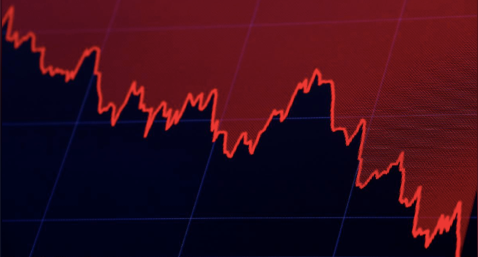 Global stocks crumble as international growth and US earnings fears spook markets
