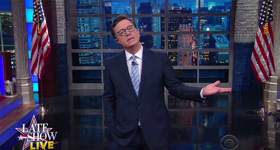 Stephen Colbert: Hillary's nomination 'biggest breakthrough since women won right to bust ghosts'