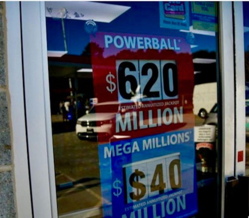 US Powerball lottery leaps to $750 million after massive Mega Millions jackpot