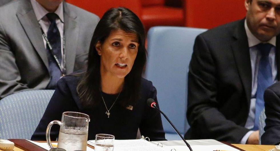 US launches UN push for 'strongest possible measures' against North Korea