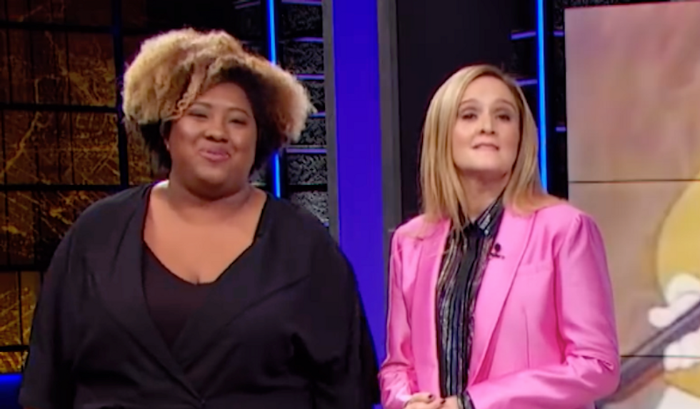'I wouldn't want to ruin your Halloween, Becky': Sam Bee correspondent has the perfect comeback for Megyn Kelly