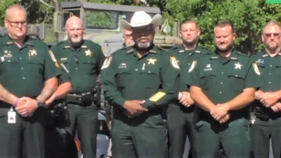 WATCH: Florida sheriff invokes God to justify recruiting local gun owners to put down 'lawless' protesters
