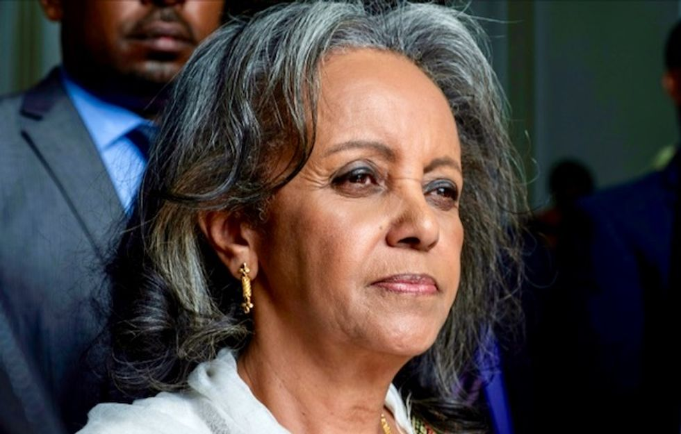 Ethiopia appoints Africa's only female president
