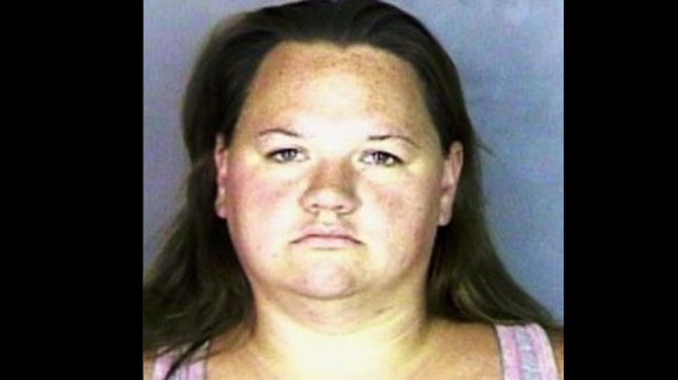 Oregon woman gets 12 years for raping friend's 12-year-old son in public