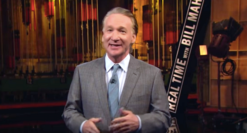 Bill Maher: Voters have a clear choice -- 'we have either I'm with her or 'I'm with stupid'