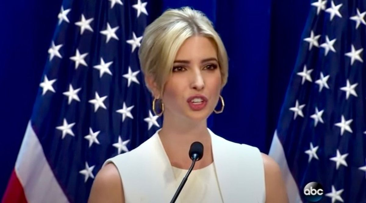 Ivanka Trump mocked for saying she will attend inauguration to save her 'promising political career'