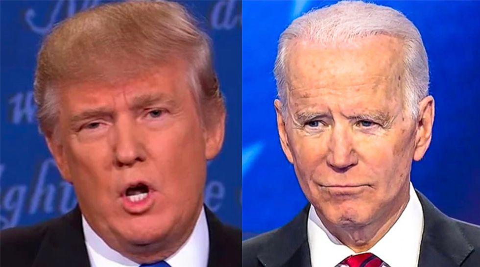 Former Breitbarter hands Joe Biden tips on how to get under Trump's skin in first debate