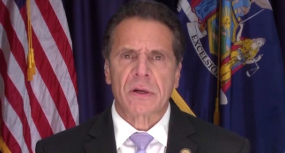 New York Gov. Andrew Cuomo rips 'misleading and dangerous' conspiracy theories about bombs sent to Dems