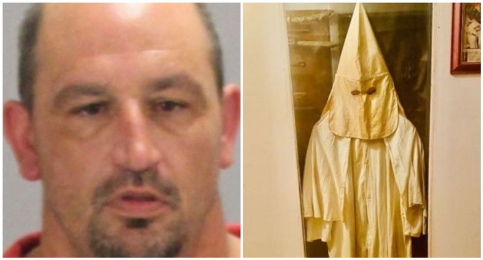 Georgia man hung nooses as Halloween decorations -- then a meth bust revealed his KKK outfit