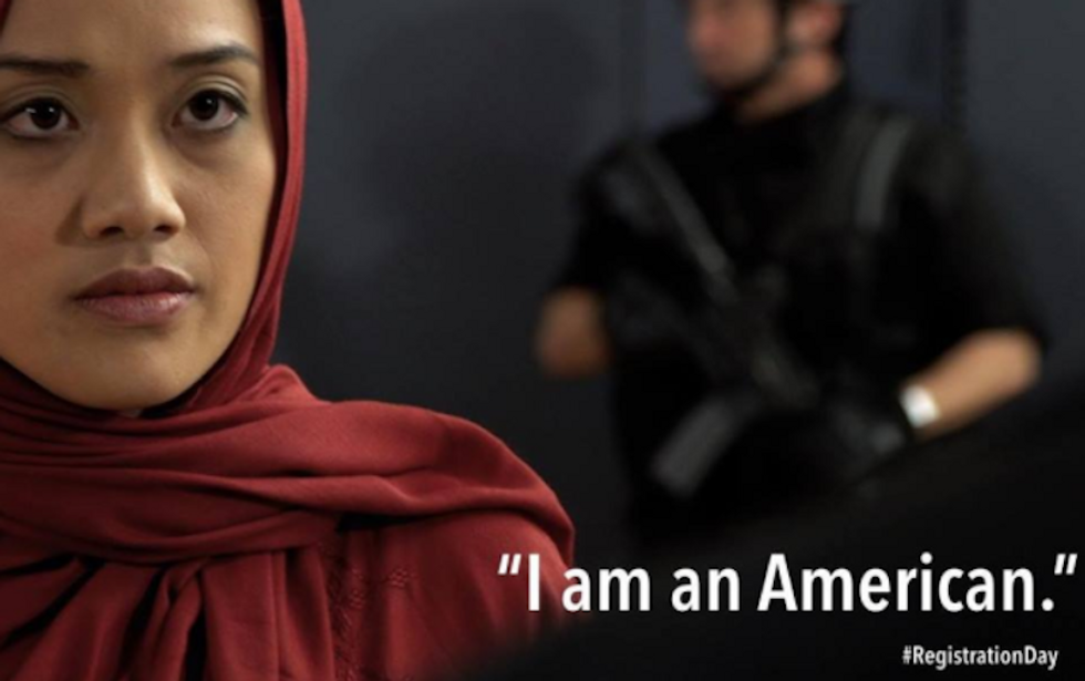 Sobering 'Registration Day' video shows what a Muslim registration in the US might look like