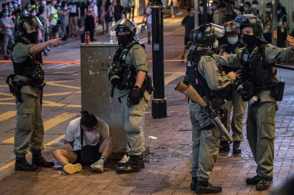 China and UK clash over fate of Hong Kongers under new security law
