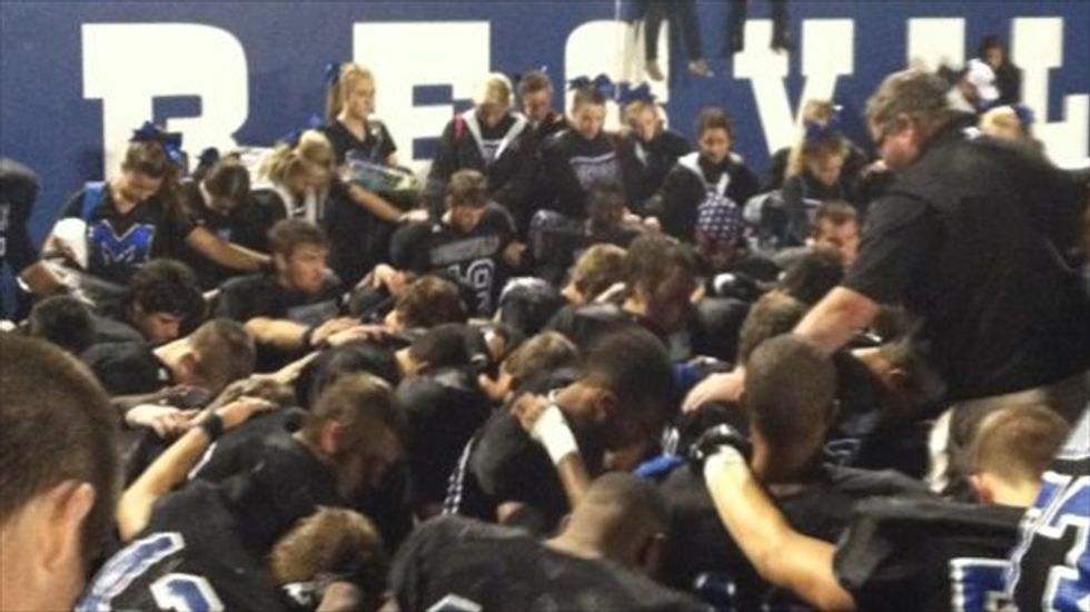 North Carolina high school's 'Blue Devils' to no longer be baptized by their head coach