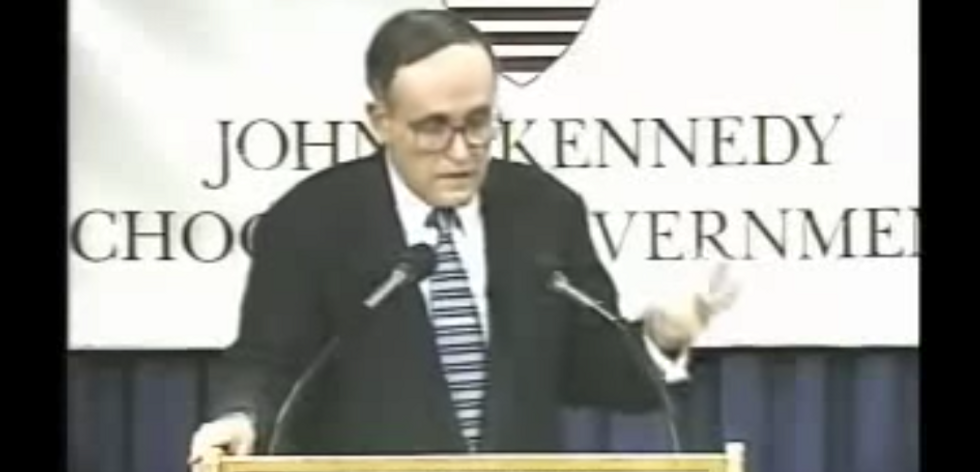 FLASHBACK: Rudolph Giuliani defends NYC as a sanctuary city in 1996